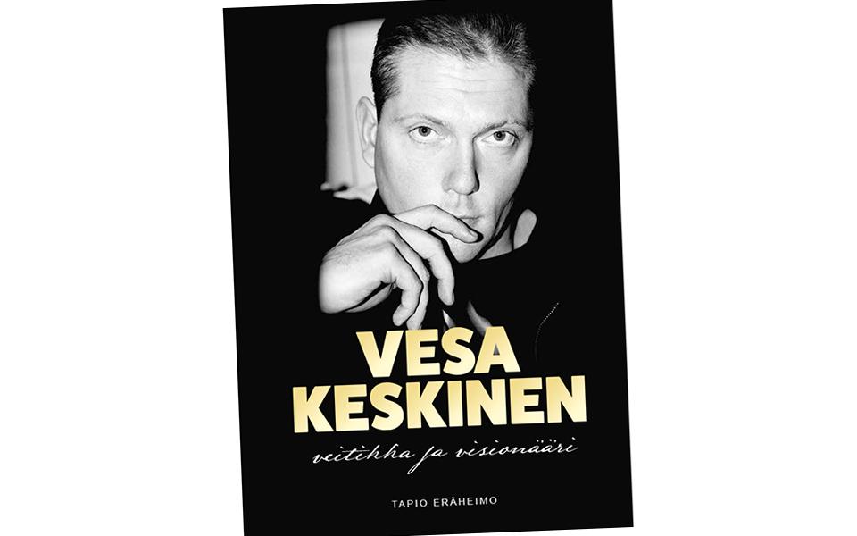 VESA KESKINEN – veitikka ja visionääri -kirja julkistetaan