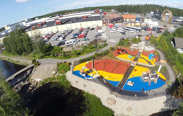 Suomen suurin Muumi -leikkipuisto.